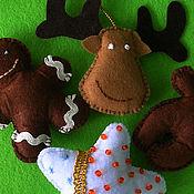 Подарки к праздникам ручной работы. Ярмарка Мастеров - ручная работа Еловый наряд. Handmade.