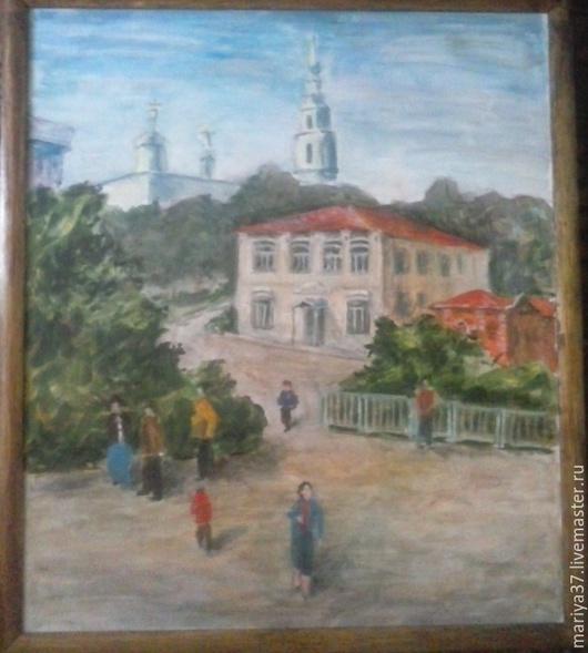 Старинный провинциальный городок на Волге-матушке
