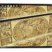 Нарды, шашки ручной работы. Ярмарка Мастеров - ручная работа Эксклюзивные нарды стеклянные MAP-2 (серия S). Handmade.
