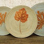 Посуда ручной работы. Ярмарка Мастеров - ручная работа Очень старые тарелки. Набор  настенных декоративных тарелок... Handmade.