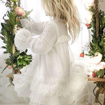 Свадебный салон ручной работы. Ярмарка Мастеров - ручная работа Нижнее  кружевное платье. Handmade.
