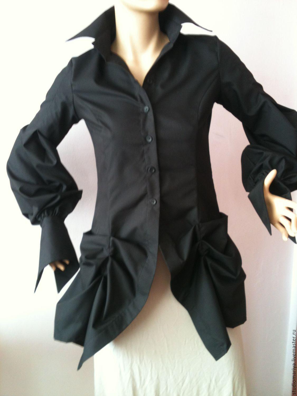 7257a452e98 ручной работы. Ярмарка Мастеров - ручная работа. Купить Стильная и модная  длинная рубашка. ...