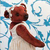"""Куклы и игрушки ручной работы. Ярмарка Мастеров - ручная работа Мишка Тедди """"Красный бархат"""". Handmade."""