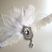 Повязка на голову в стиле Gatsby  Lace