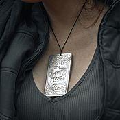 Украшения handmade. Livemaster - original item Tibetan pendant ingot Year of the Tiger. Handmade.