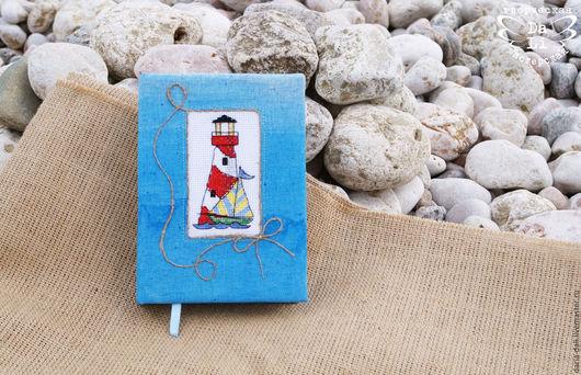 Блокнот `На морском побережье#1` от Творческой Мастерской `DaLi`