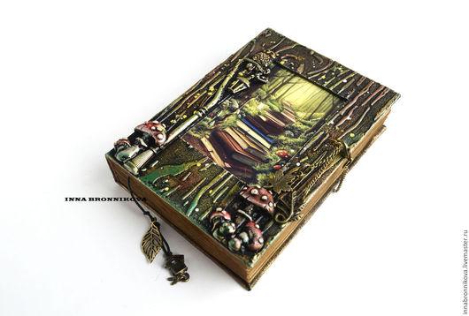 """Блокноты ручной работы. Ярмарка Мастеров - ручная работа. Купить Блокнот """"Тайные знания"""". Handmade. Комбинированный, блокнот в подарок, блокноты"""