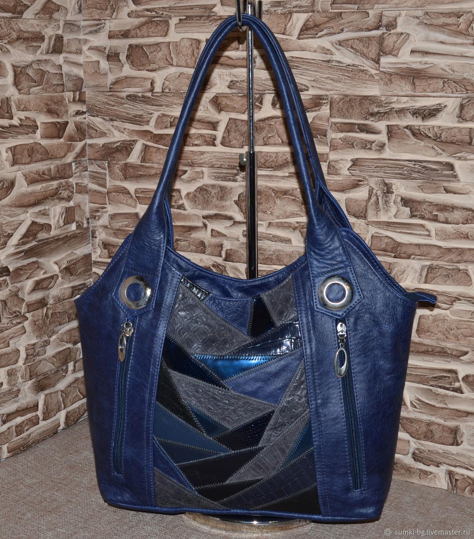 Model 402 genuine leather Bag for every day, Classic Bag, Bogorodsk,  Фото №1