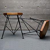 Для дома и интерьера handmade. Livemaster - original item Stool SPIKE. Handmade.
