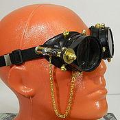 "Субкультуры handmade. Livemaster - original item INFORMAL Goggle Eyewear ""WELDER-50"" Steampunk. Handmade."