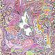 """""""Сиреневый сад"""". Картины. Любовь Шатилова. Интернет-магазин Ярмарка Мастеров. Фото №2"""