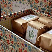 Косметика ручной работы. Ярмарка Мастеров - ручная работа Ботаника, подарочный набор натурального мыла.. Handmade.