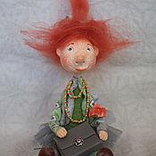 Куклы и игрушки ручной работы. Ярмарка Мастеров - ручная работа Я у мамы Красотуля .... Handmade.