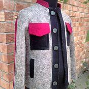 Одежда handmade. Livemaster - original item Felted jacket for men