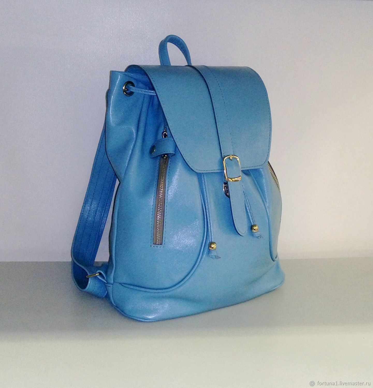 Backpack leather 156 g, Backpacks, St. Petersburg,  Фото №1
