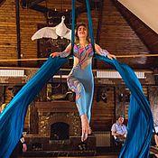 Комбинезоны ручной работы. Ярмарка Мастеров - ручная работа Костюм для воздушной гимнастики. Handmade.
