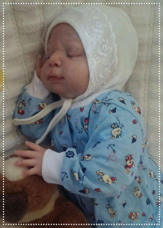 Куклы-младенцы и reborn ручной работы. Ярмарка Мастеров - ручная работа. Купить Кукла реборн(реалборн) из молда Исаак(Isaac) Новинка 2016. Handmade.