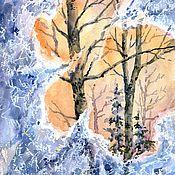 Картины и панно ручной работы. Ярмарка Мастеров - ручная работа Окно-1. Handmade.