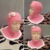 Аксессуары handmade. Livemaster - original item Hat helmet bow for girls. Handmade.