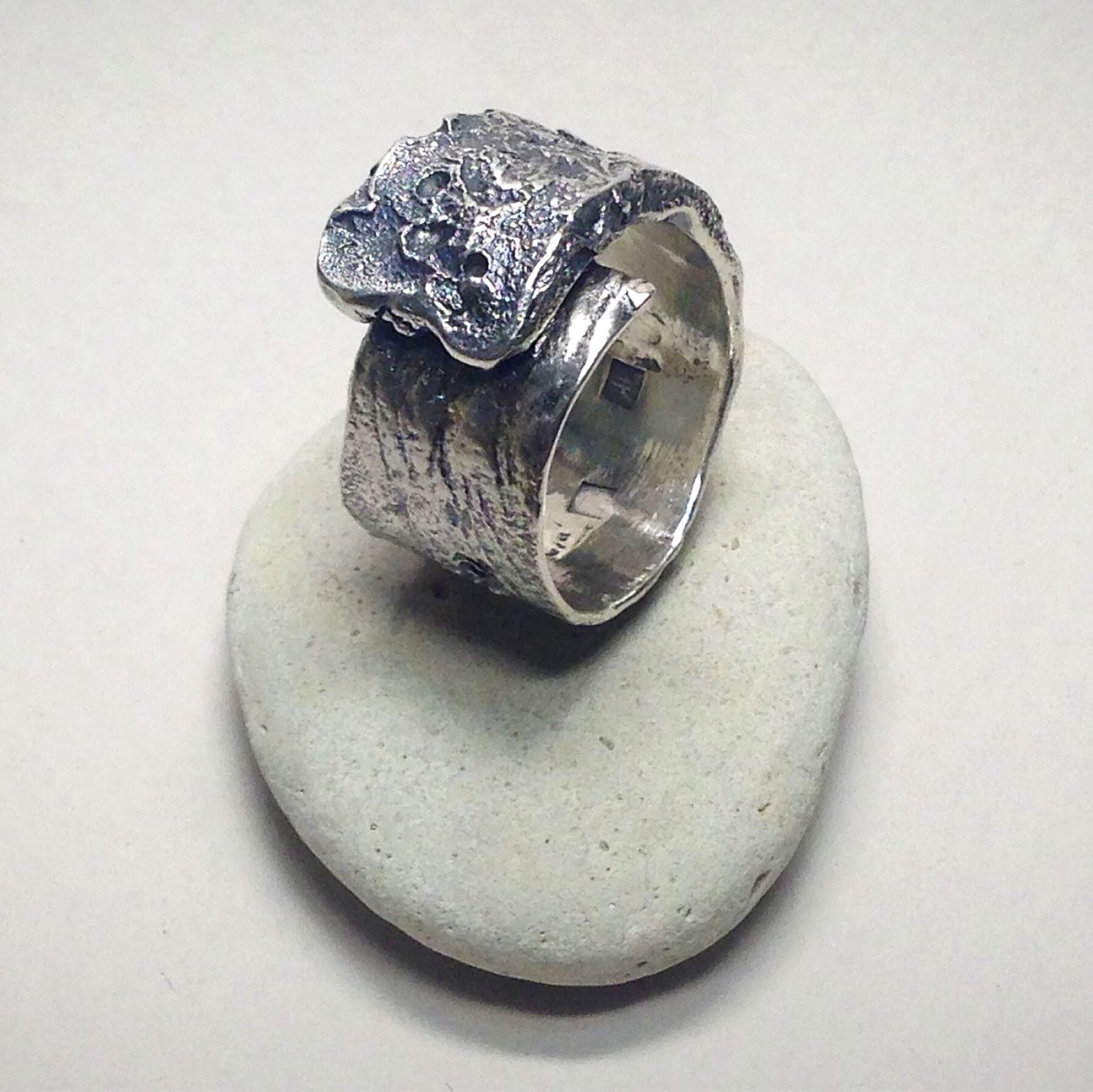 The Tail Of A Comet - Silver Ring, Rings, Odessa,  Фото №1
