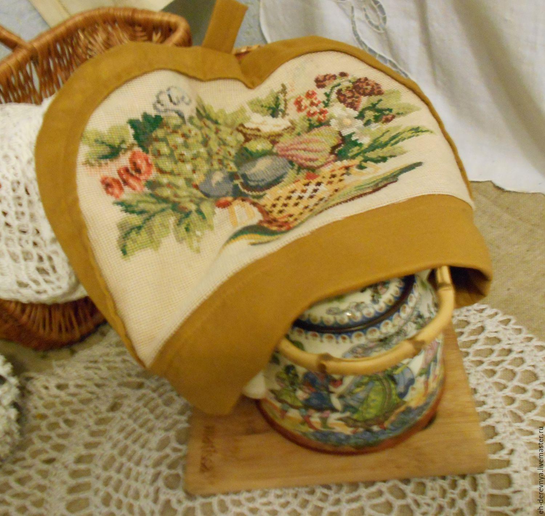 Милые сердцу штучки: Вышивка бисером: Старинные грелки на чайник