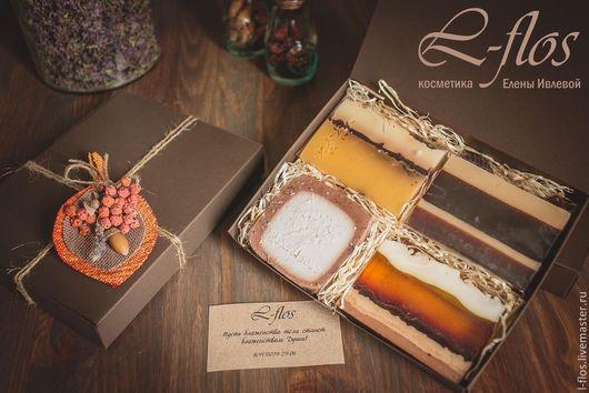 Коллекция мыла `Шоколадный десерт` !!!Не содержит лаурилсульфат натрия (SLS)!!!