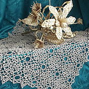 Подарки к праздникам handmade. Livemaster - original item Doily tatting