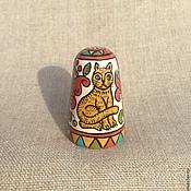 Сувениры и подарки handmade. Livemaster - original item Thimble collector`s wood