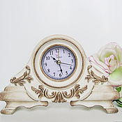 Для дома и интерьера ручной работы. Ярмарка Мастеров - ручная работа Часы настольные Винтажный уют. Handmade.