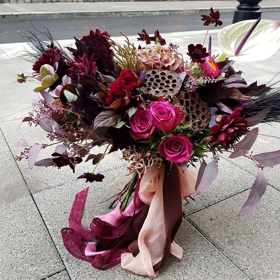 Необычный букет цветов купить