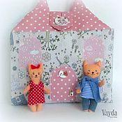 Куклы и игрушки ручной работы. Ярмарка Мастеров - ручная работа Домик-сумочка для котиков Кошкин дом. Handmade.