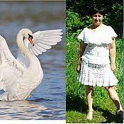 """Одежда ручной работы. Ярмарка Мастеров - ручная работа Костюм """"Лебедь белая"""" авторская работа. Handmade."""