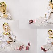 Куклы и пупсы ручной работы. Ярмарка Мастеров - ручная работа Авторская коллекционная кукла Ожидание чуда. Handmade.