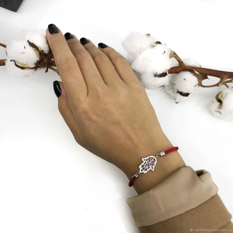 Bracelet Hamsa (Hand Of Fatima), Bead bracelet, Moscow,  Фото №1