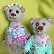 Куклы и игрушки ручной работы. Ярмарка Мастеров - ручная работа Пара мишек. Мишки Тедди. Handmade.