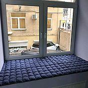 handmade. Livemaster - original item Mat pillow on the window sill. Handmade.