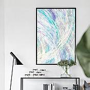 Картины и панно handmade. Livemaster - original item Painting abstraction to buy, Albus. Handmade.