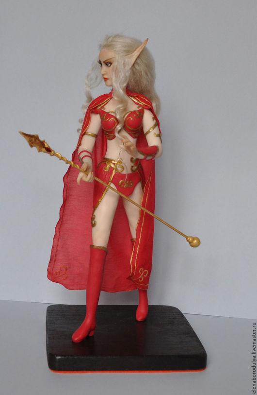 Коллекционные куклы ручной работы. Ярмарка Мастеров - ручная работа. Купить Кукла ручной работы Эльф крови. World of Warcraft. Handmade.