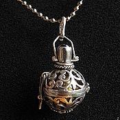 Украшения handmade. Livemaster - original item Bol with bell for pregnant women pomegranate. Handmade.