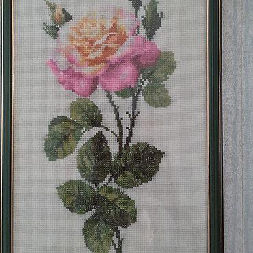 """Для дома и интерьера ручной работы. Ярмарка Мастеров - ручная работа Картина """"Роза"""". Handmade."""
