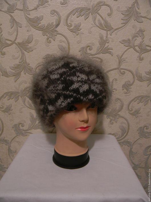 Шапки ручной работы. Ярмарка Мастеров - ручная работа. Купить Двойная шапка с отворотом 3. Handmade. Двойная шапка с отворотом