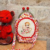 Работы для детей, handmade. Livemaster - original item Handbag with clasp