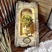 handmade. Livemaster - original item Panel Lemon tree. Handmade.