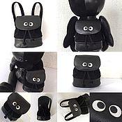 Куклы и игрушки ручной работы. Ярмарка Мастеров - ручная работа Рюкзак для мишки. Handmade.