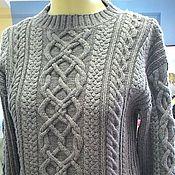 Одежда ручной работы. Ярмарка Мастеров - ручная работа Вязаный свитер ручной работы. Handmade.