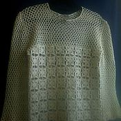 Одежда handmade. Livemaster - original item Blouse, crocheted