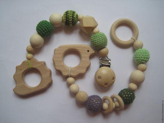 Игрушки животные, ручной работы. Ярмарка Мастеров - ручная работа. Купить Лесной житель. Handmade. Прорезыватель, дерево
