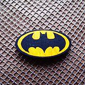 Украшения ручной работы. Ярмарка Мастеров - ручная работа Бэтмен- брошь/магнит/кольцо/брелок. Handmade.