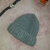 Аксессуары handmade. Livemaster - original item Men`s winter double hat. Handmade.