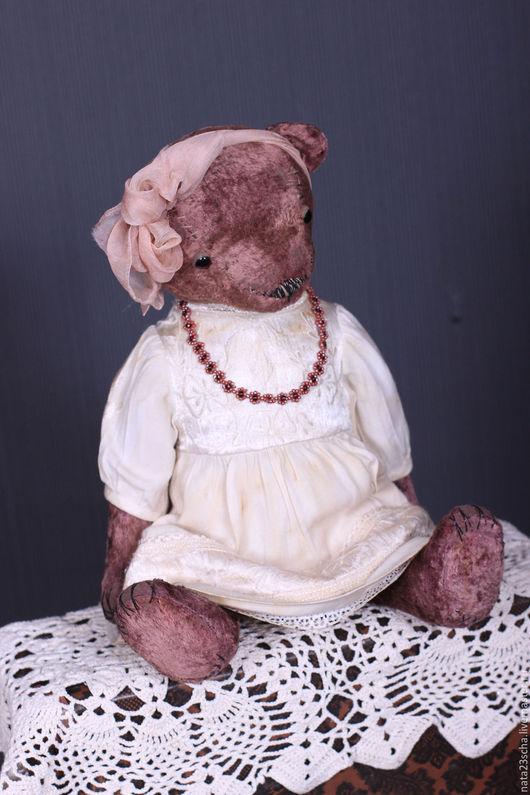 Мишки Тедди ручной работы. Ярмарка Мастеров - ручная работа. Купить Сонечка. Handmade. Бледно-розовый, мишка девочка
